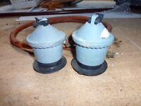 two calor gas regulators