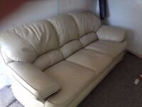 leather suite (free local delivery)