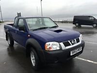 Nissan Navara diesel 2003 year pic up engine fault