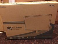 """22"""" Acer LED Monitor £79"""