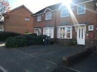 3 BEDROOM SEMI-BORDESLEY VILLAGE-AVAILABLE TO VIEW AND MOVE INTO ASAP-DRIVEWAY AND REAR GARDEN-£750