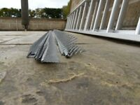 Steel Plasterer's Edging (make me an offer)