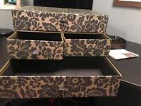 A4 4 drawer storage box