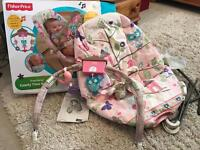 Fisherprice comfy time bouncer