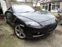 Mazda RX8 231 2.6/1.3 Black With Red Leather