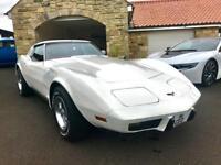 CORVETTE CORVETTE 1977 Chevrolet Corvette 350 V-8 ***Classic Car*** (white) 2017
