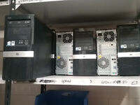 JOBLOT OF 6 HP DX2420 MICROTOWERS