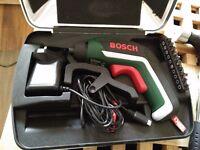 URGENT! Cordless Bosch screwdriver + case. MUST GO IN 2 DAYS!!!