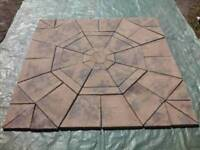 New / unused large square paving slab kit