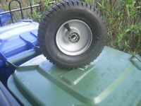 Brand New 9 x 3.50-4 Tyre and Wheel with bearings