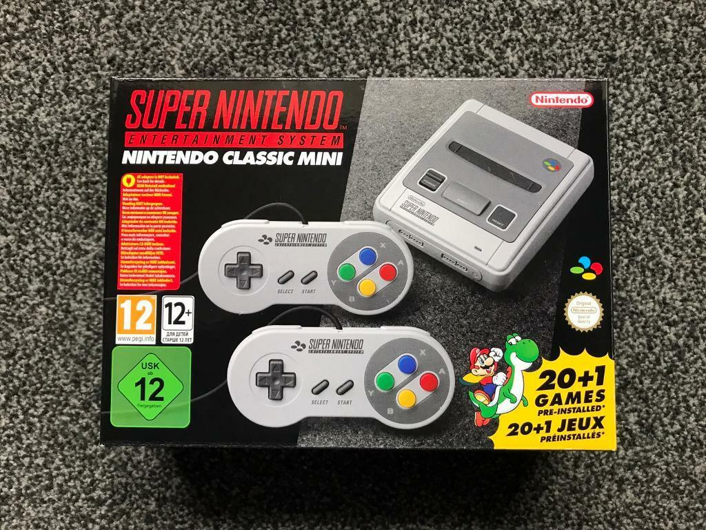 Snes Classic Mini Super Nintendo Brand New