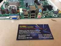 HP Desktop PC Pavilion P6000 motherboard with cpu