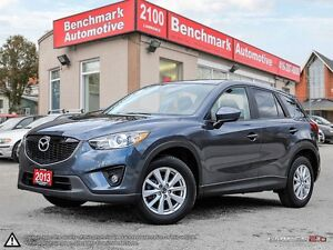 2013 Mazda CX-5 GS AWD-SKYACTIVE-ROOF-1 OWNER-CLEAN CARPROOF-46K