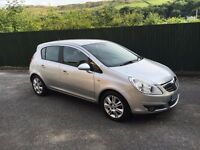 VAUXHALL CORSA 1.2 VERY LOW MILAGE 64K MOT 04/17 2008/08REG HPI CLEAR