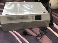 Integrated kitchen extractor hood