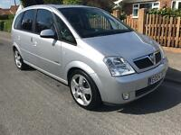 2004(04) Vauxhall Meriva 1.8 Design - Long MOT