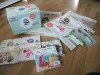 Huge Slice Fabrique Bundle - Fabric/Paper Cutting Machine. 5 design cards + accessories!!