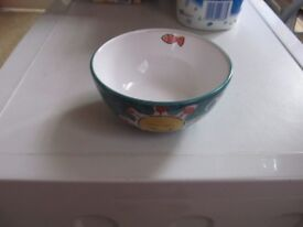 THE PIER - HAND DECORATED BOWL (NEW)