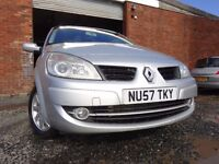 57 RENAULT GRAND SCENIC 1.5 DIESEL,MOT NOV 017,PART HISTORY,VERY RELIABLE TRANSPORT,PRICED TO SELL