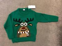 Baby Christmas jumper 12-24 months