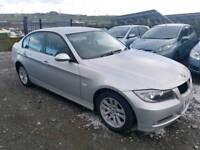 2007 BMW 3 SERIES 318D SE 4 DOOR SALOON SILVER