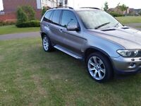 "2006 BMW X5 3.0d SPORT DIESEL SATNAV/TV 20"" LE MANS WHEELS (MAY PX P/X PART EXCHANGE WHY?)"