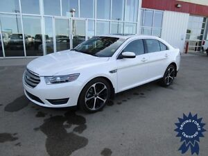 2015 Ford Taurus SEL AWD w/Heated Leather Bucket Seats, Sunroof