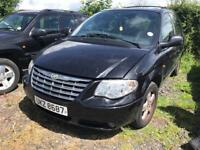 2007 Chrysler Voyager 2.8crd auto / all parts available