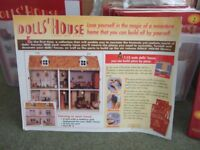 Dolls House kit. 120 weekly parts. Ready to make.