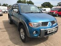 Mitsubishi L200 DIAMOND 2.5 di-d, Double cab, Auto, Fully loaded, Great looking truck!