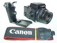 Bronica Zenza ETR-S Medium Format SLR Camera