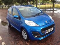 2012 Peugeot 107, mot - May 2017 ,only 46k ,service history , 2 owners,clio,corsa,fiesta,c1,aygo,207