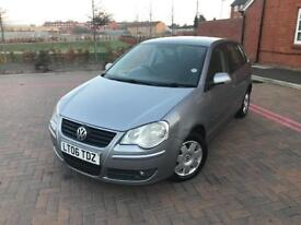 2006/06 VW POLO 1.4 SE 2 F OWNERS FSH LONG MOT 5 DOORS