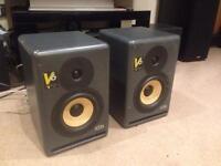 KRK V6 Bi Amplified Active Studio Monitors