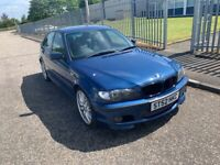 BREAKING FOR PARTS - BMW E46 330i Saloon 4 door M Sport TopazBlue & Leather Interior