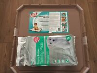 Puppy training pads/training halter