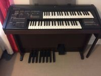 Yamaha Electone HC 4W Organ with stool. Perfect condition