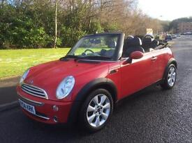 MINI Convertible 1.6 One , VERY HIGH SPECIFICATION , 2004 (04 reg), Convertible, ELEC ROOF