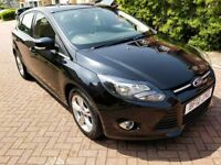 Black Ford Focus - Low Mileage, 12 Months MOT & Service