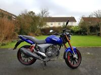 2015 keeway rkv 125cc £1100 ono