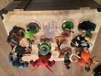 Disney infinity figures , 1.0 ,2.0 , marvel , toy story
