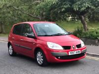 **RENAULT SCENIC DCI 1.5 DIESEL 5 DOOR RED (2007 YEAR)**