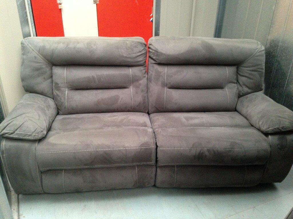 Kinman 3 And 2 Seater Recliner Sofa