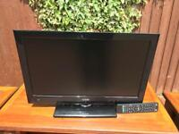 22 inch LuxorTV with built in DVD