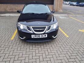 2008 SAAB TTID AERO 180BHP, SAT NAV, BOSE SYSTEM, SUNROOF, ELECTRIC HEATED SEATS