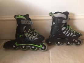 Rollerblades kids adjustable size 11-13.5