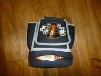 Dr Who packed lunch bag with zipped section on base for lunch box good used condition