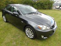 GREAT Value 2007 57 Lexus i220D SE Full Screen NAV Full Leather Upholestry 10 Service Stamps May MOT