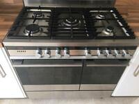 Fisher & Paykel Dual Fuel Range Style Cooker and hood
