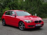 BMW 1 Series 2.0 120d Sport Sports Hatch 5dr (start/stop) 1 OWNER + FULL BMW HISTORY